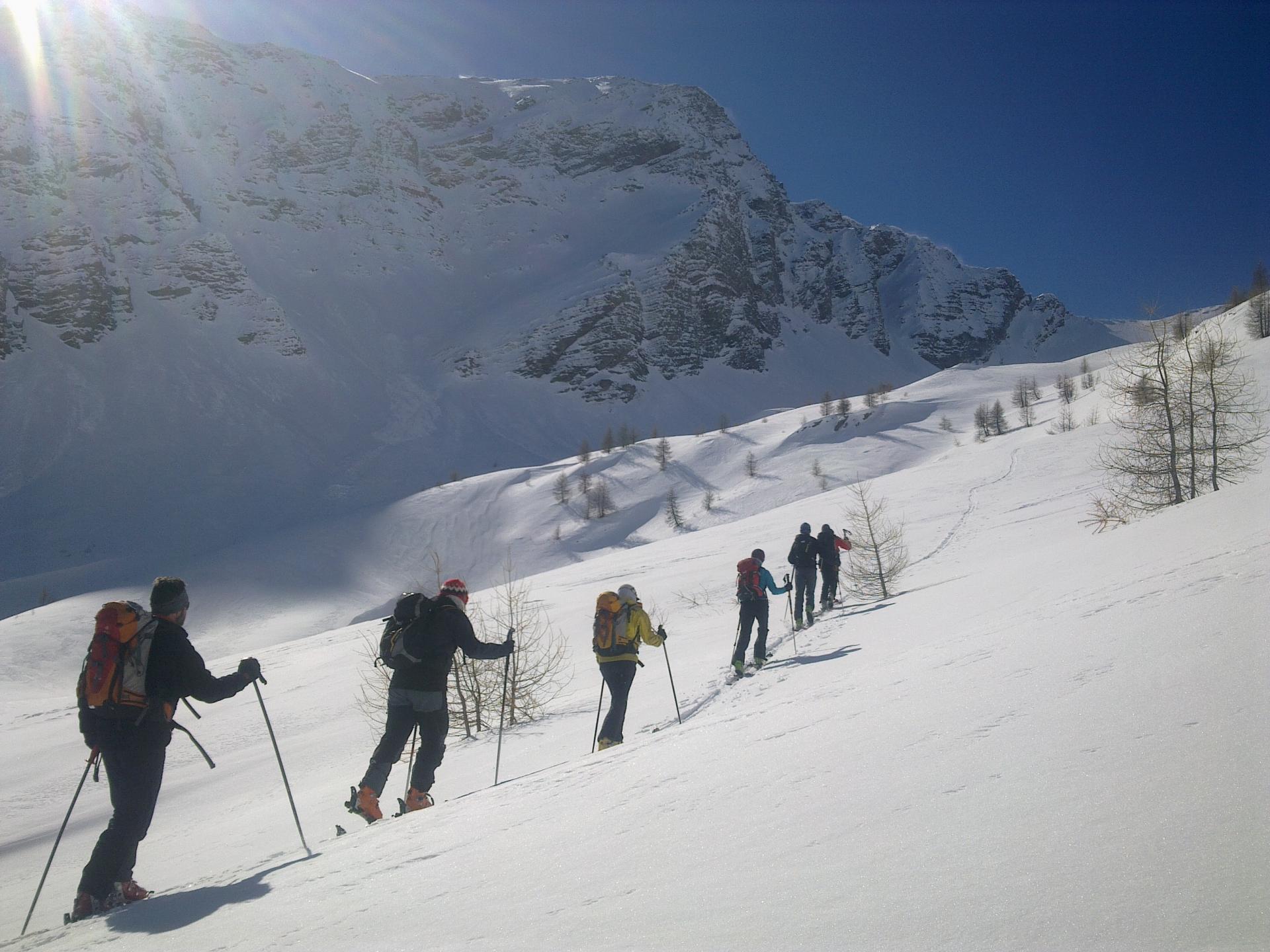 Randonnée à skis